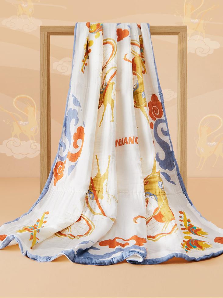 《Be s better mom 十月结晶 x 敦煌博物馆》2021秋冬母婴产品&家居服系列Lookbook