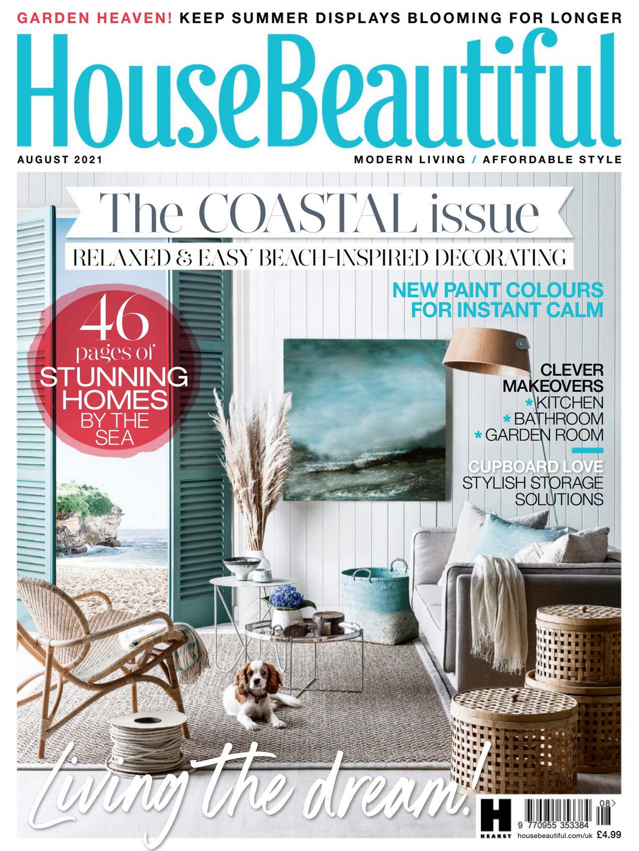 《House Beautiful》英国版家纺杂志2021年08月号