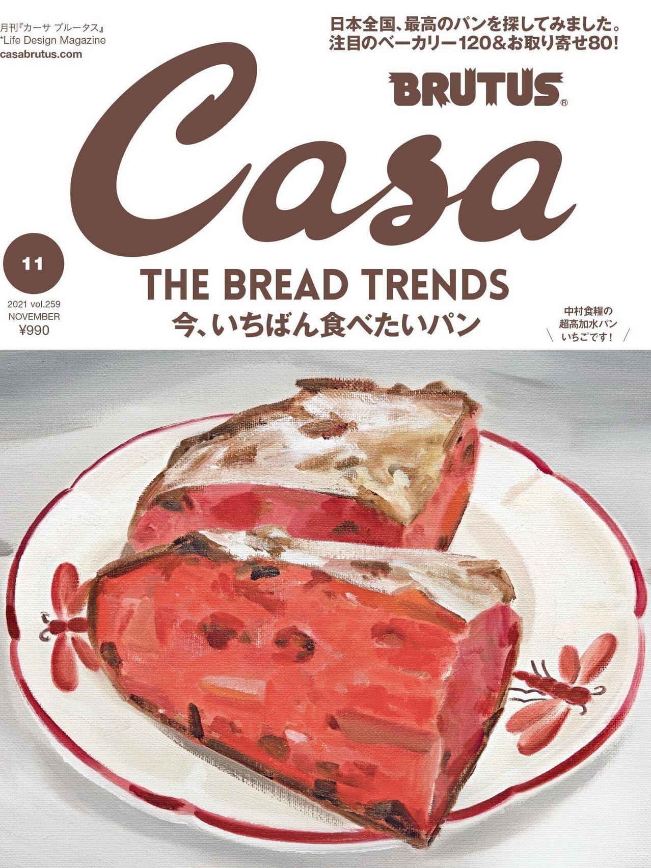 《Casa Brutus》日本室内设计流行趋势杂志2021年11月号