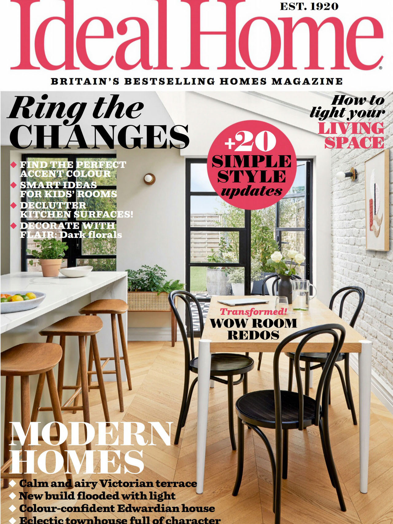 《Ideal Home》英国版理想的家园杂志2021年10月号