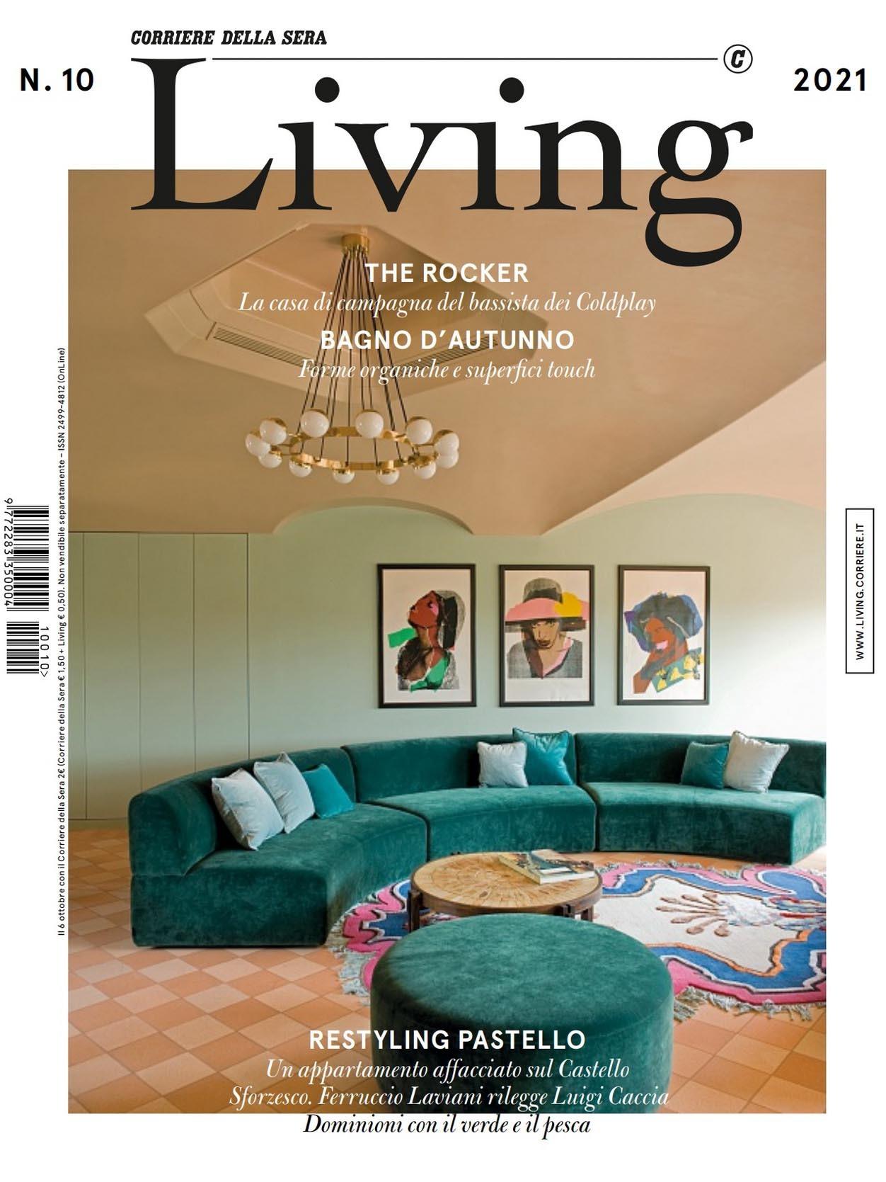 《Living》意大利版时尚家居杂志2021年10月号