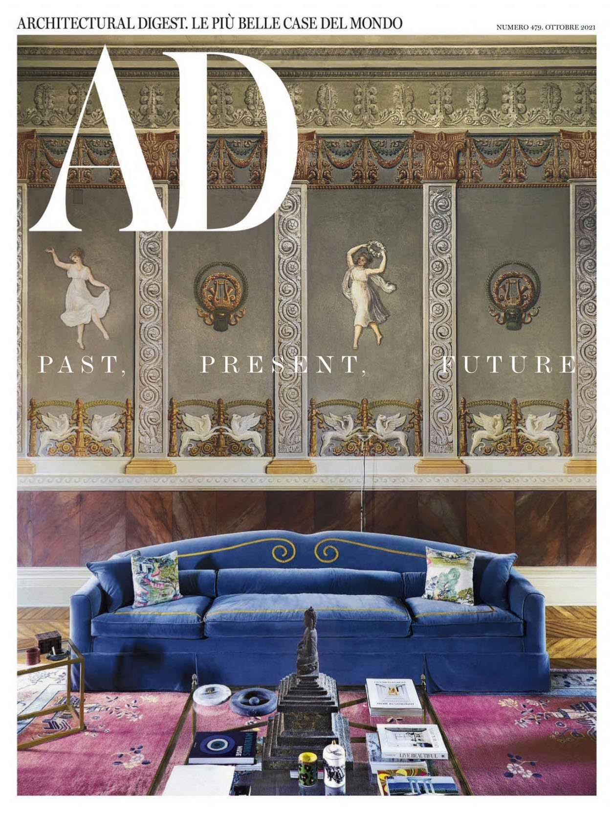 《AD》意大利版室内设计杂志2021年10月号