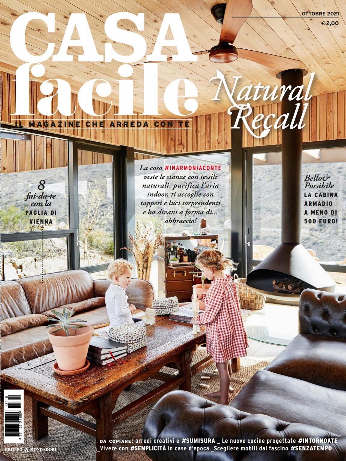 《Casa Facile》意大利家居空间装饰艺术杂志2021年10月号