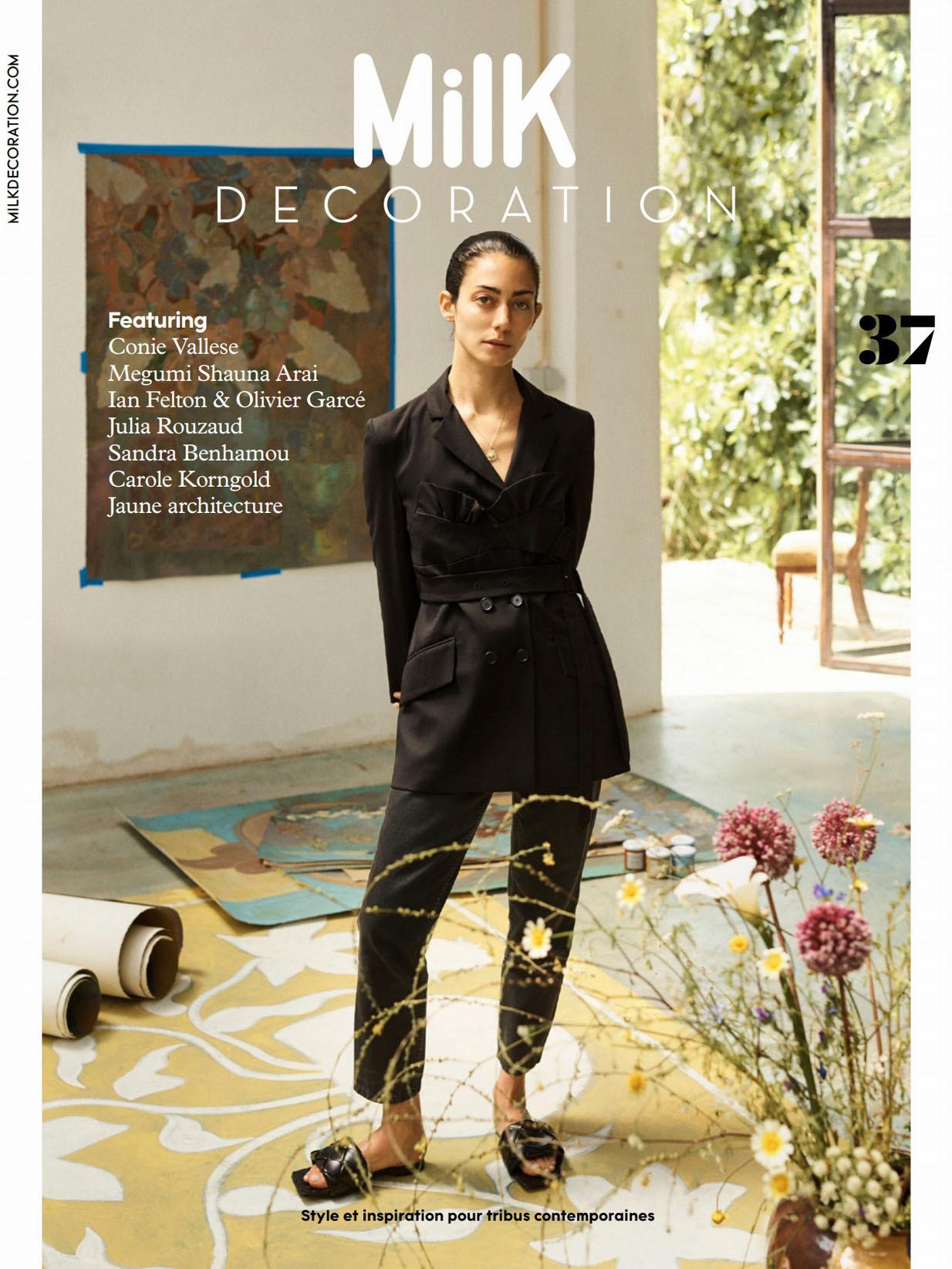 《Milk Decoration》法国家庭生活杂志2021年09-11月号#37