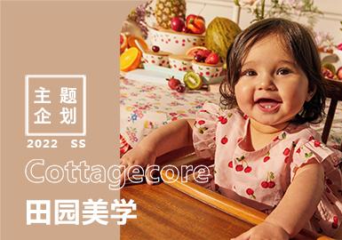 2022春夏婴幼童家纺主题企划--Cottagecore田园美学(矢量)