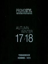 《Promostyl》2017-2018秋冬歐美男裝梭織款式設計趨勢手稿
